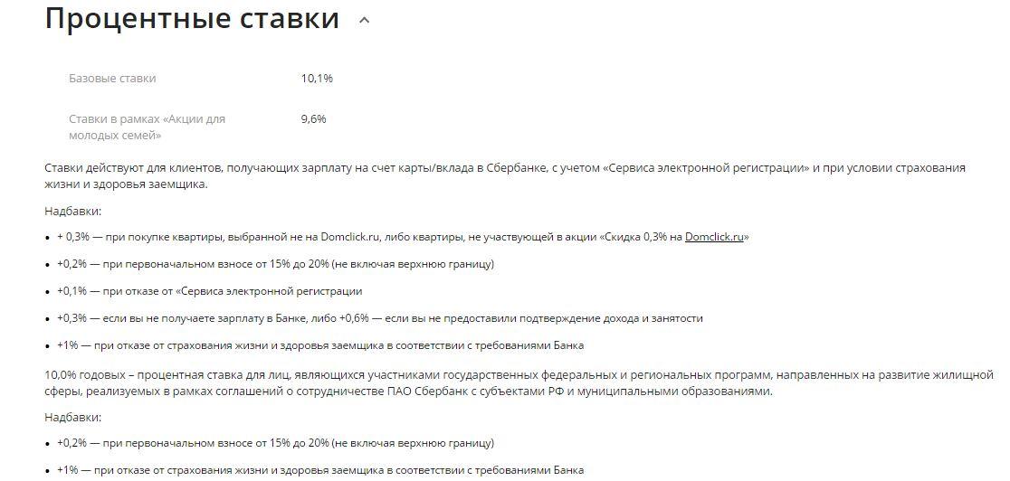сбербанк официальный сайт ипотека вторичка